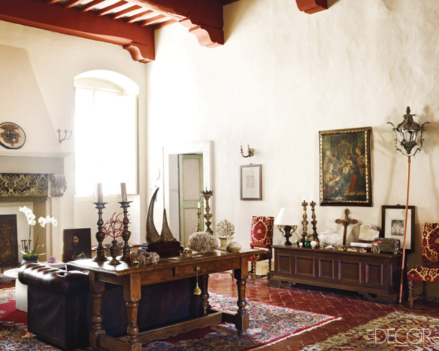 See photos of an ancient italian palazzo Spanish apartment decor
