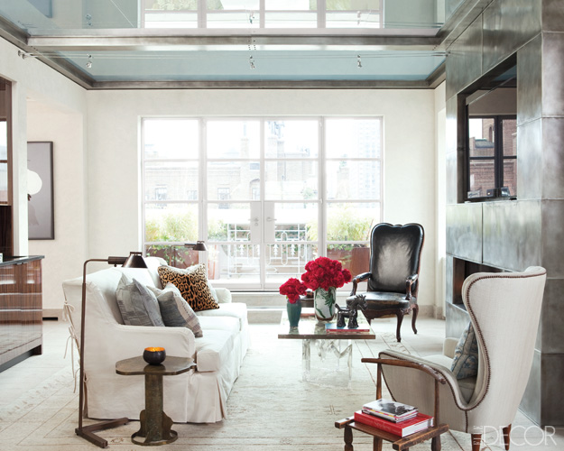 bunny williams renovates a manhattan penthouse