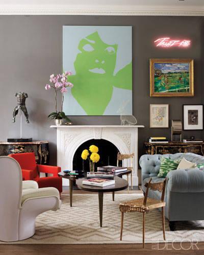 Home Decorating Ideas: Cosmetics Executive Christine D