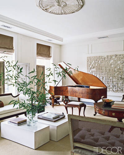 Home decorating ideas darryl carter 39 s d c townhouse for Grand piano in living room