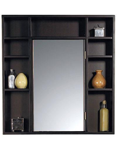 Our favorite medicine cabinets on for Wood frame medicine cabinet