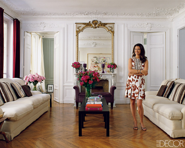 Inside cordelia de castellane paris home Parisian style home