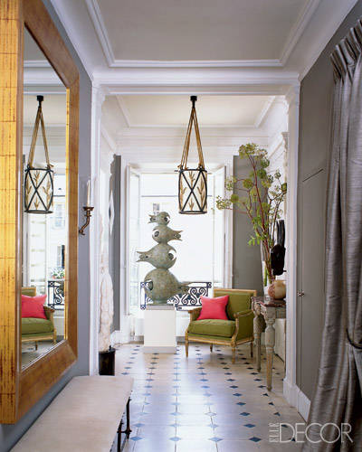 Interior Design Inspiration From Roger Davies Portfolio: Marco Scarani And Jamie Creel Paris Home Tour