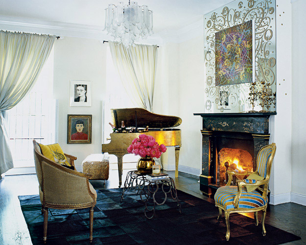 Cynthia Rowley Home Photos - Cynthia Rowley New York Townhouse