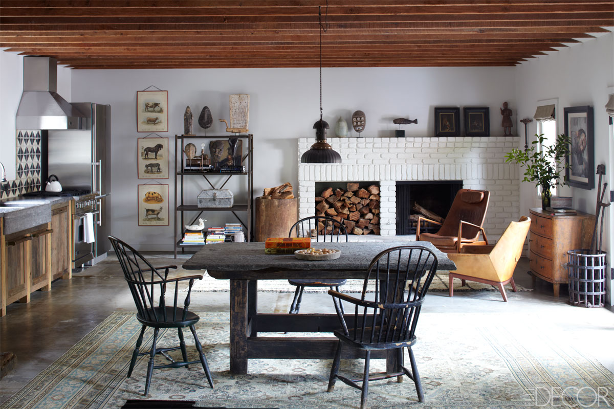 30 Ways To Create A Trendy Industrial Dining Room: 15 Rustic Kitchen Decor Ideas