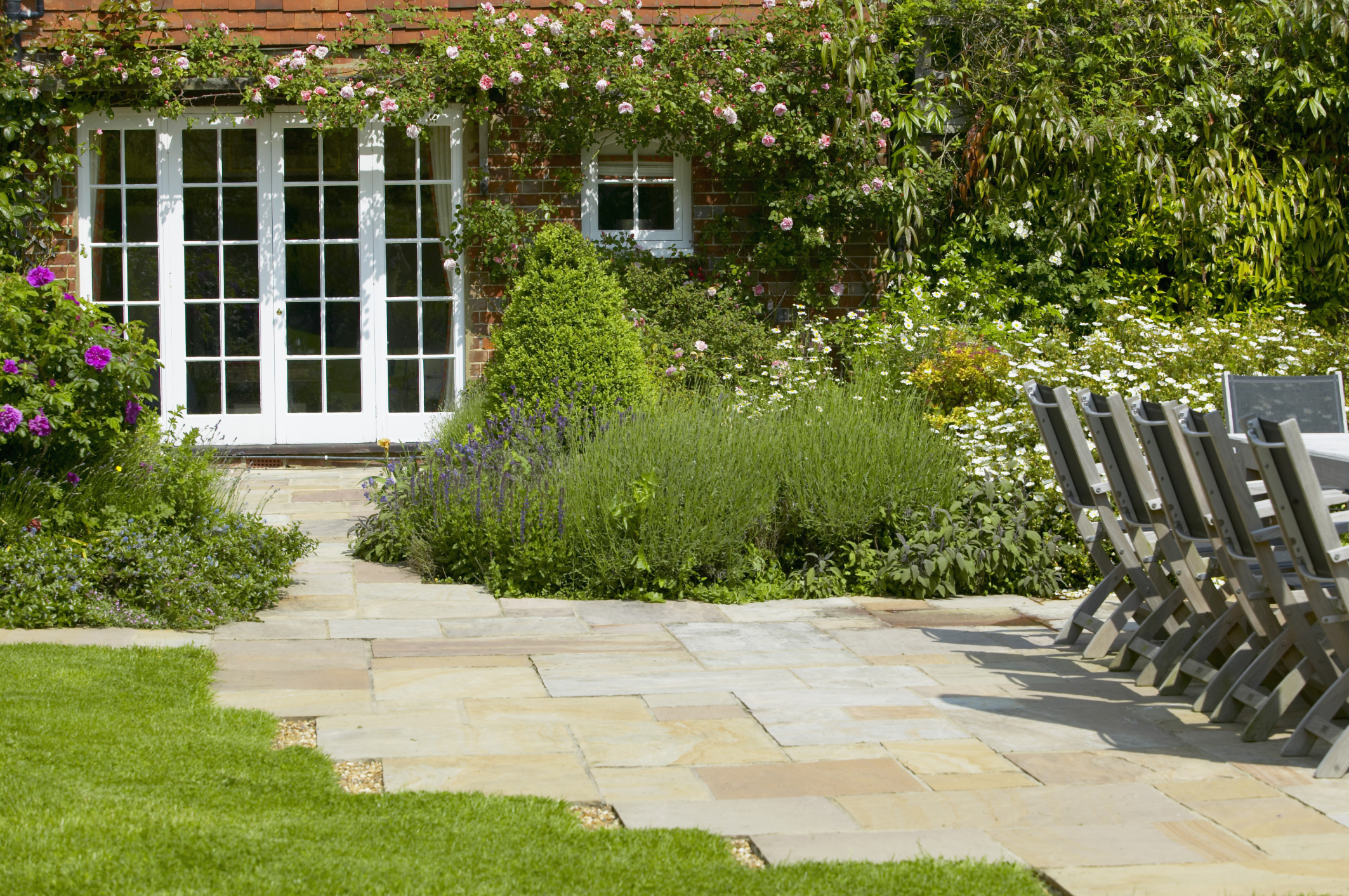 17 Low Maintenance Landscaping Ideas - Chris and Peyton ... on Back Garden Ideas id=43546