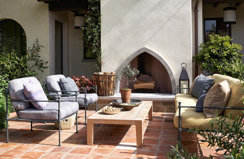 10 Outdoor Fireplace Design Ideas - Best Backyard Fire Pits on Backyard Outdoor Fireplace id=95799