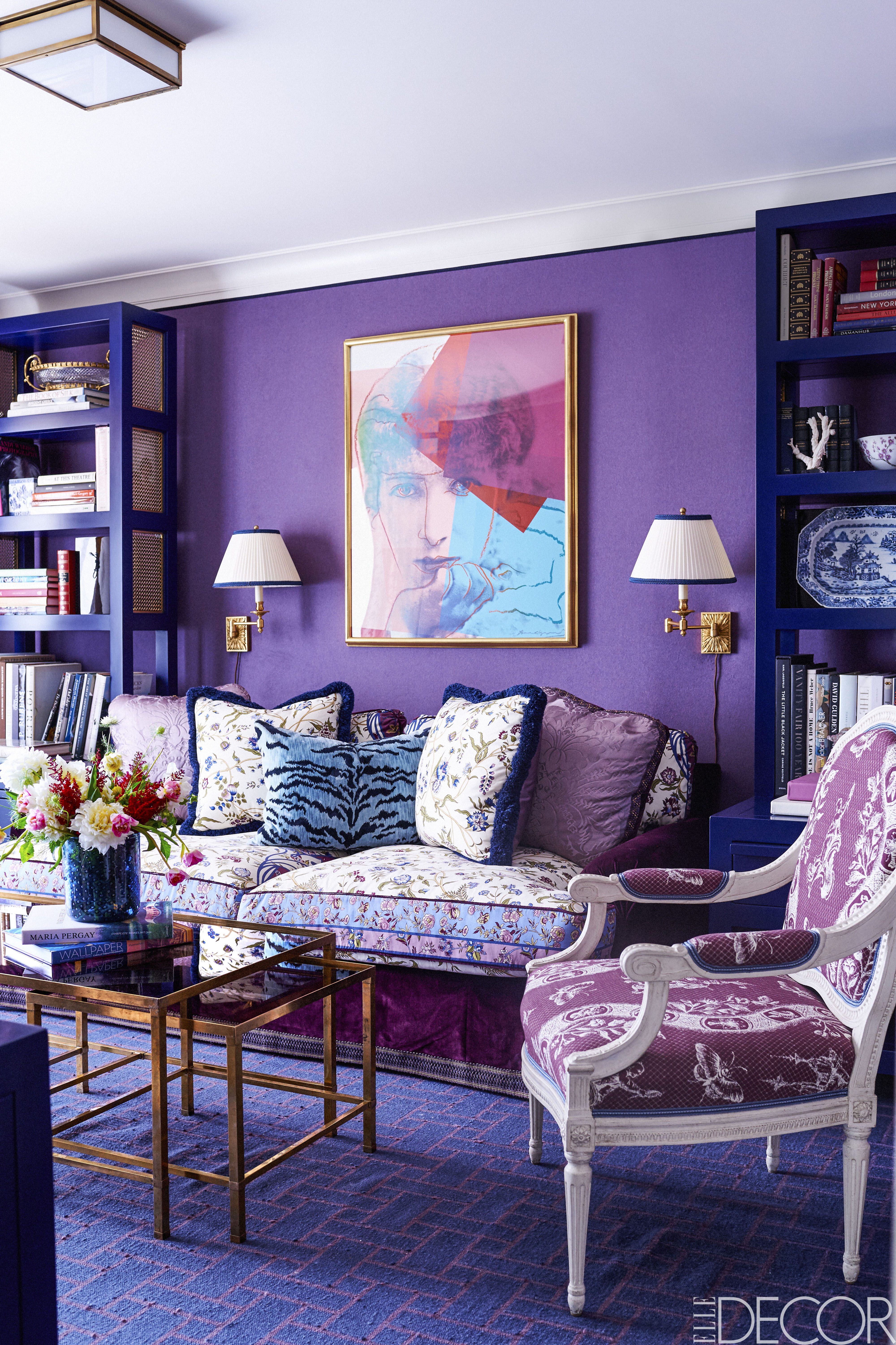15 Best Purple Rooms & Walls - Ideas for Decorating with ...