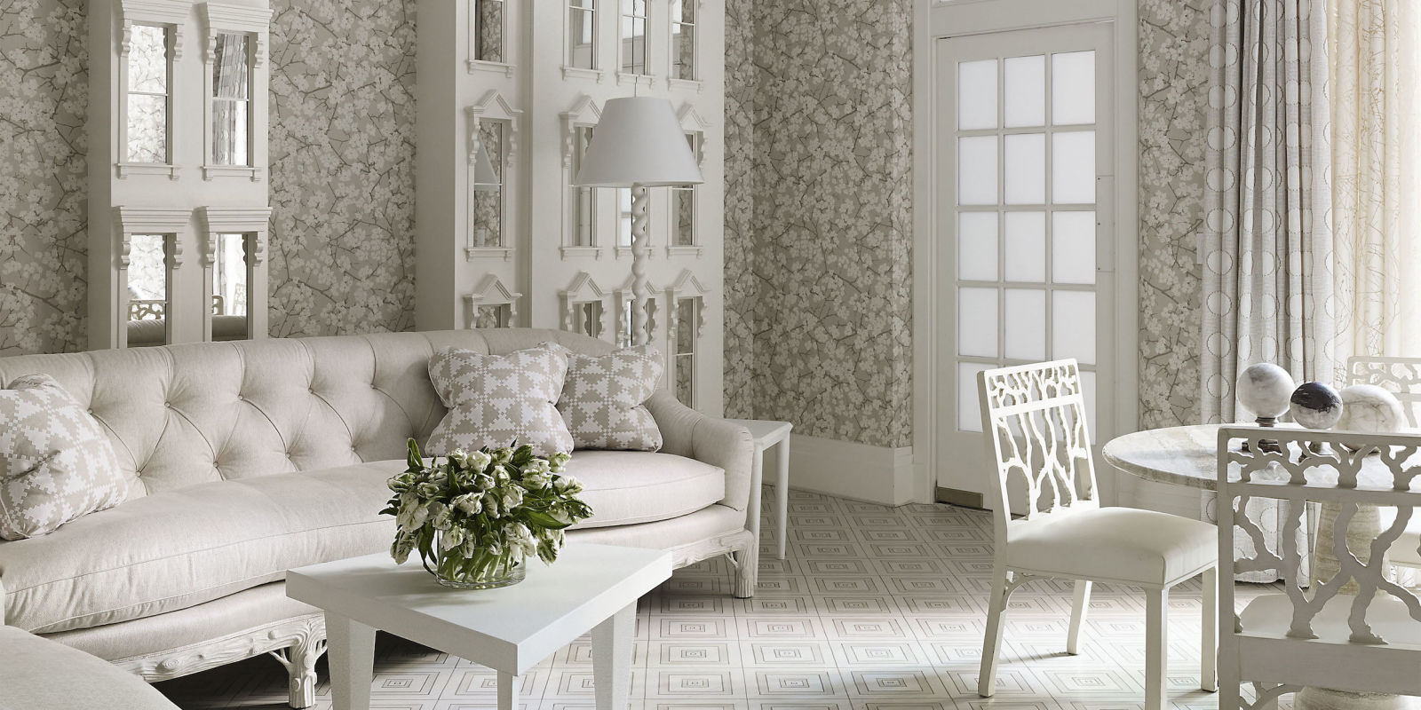 20 White Living Room Furniture Ideas - White Chairs and ...