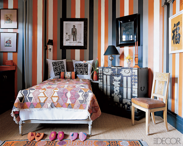 striped living room walls striped rooms decorating with stripes 15740